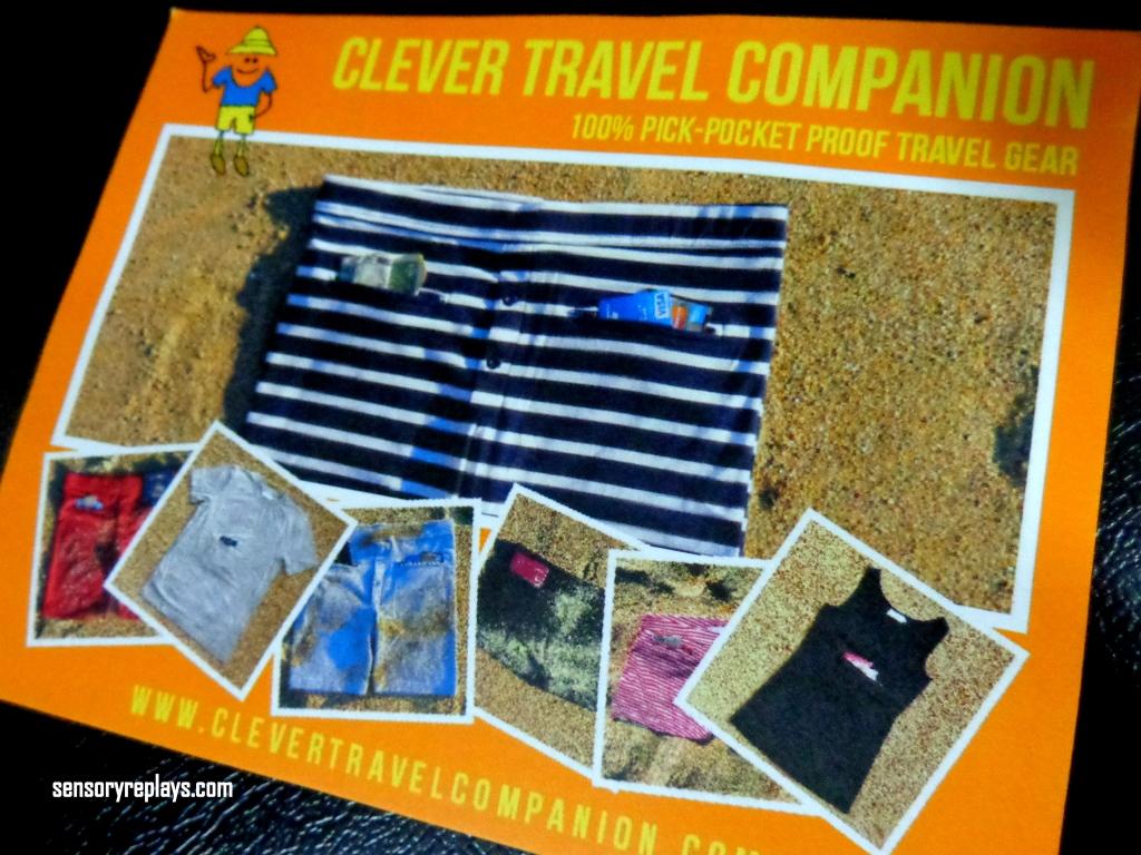 A Clever Travel Companion Sensory Replays