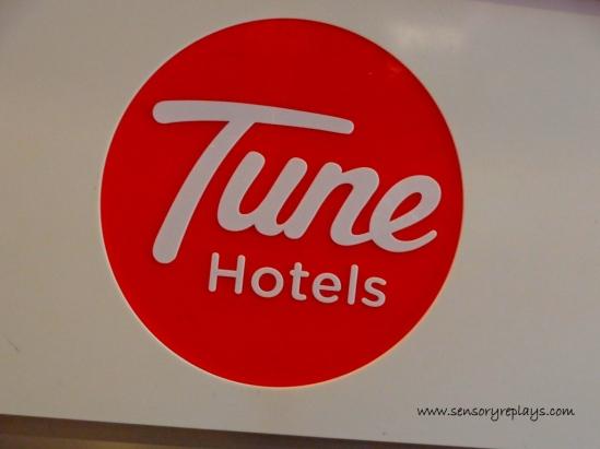 tune hotels | sensory replays